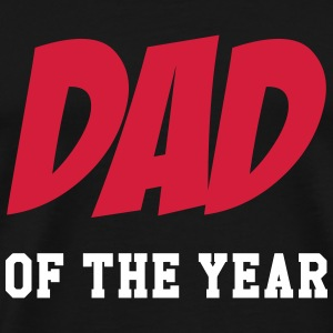 Dad of the year T-Shirts - Männer Premium T-Shirt