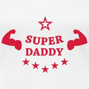 Super Daddy T-shirts - Vrouwen Premium T-shirt