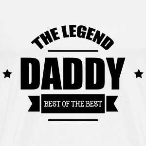 Daddy The Legend Camisetas - Camiseta premium hombre