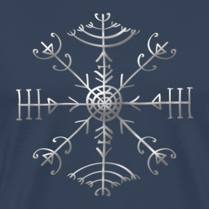 Veldismagn - Fortune & Protection Symbol, Iceland T-shirts - Premium-T-shirt herr