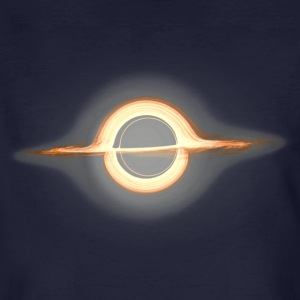 Black hole, Portal, Infinity, Universe, Outer Space T-shirts - Mannen Bio-T-shirt