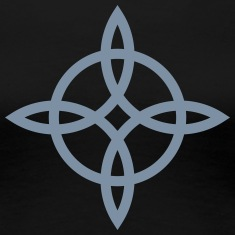 Witch`s Knot, Power of 4 elements - Binding Rune T-Shirts