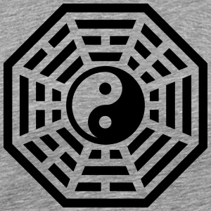 Pa-Kua, Yin Yang, China, symbol of reality T-shirts - Premium-T-shirt herr