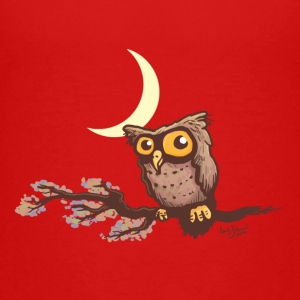 Cute night owl Shirts - Teenage Premium T-Shirt