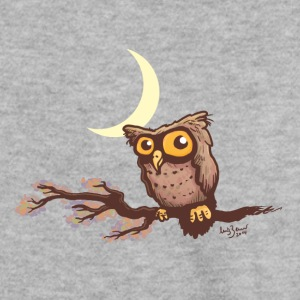 Cute night owl Hoodies & Sweatshirts - Men's Sweatshirt