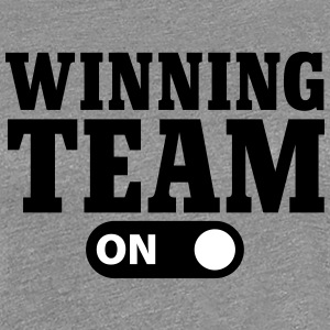 Winning Team on T-shirts - Premium-T-shirt dam