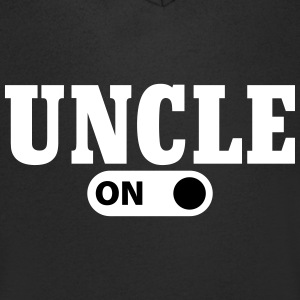 Uncle on T-Shirts - Men's V-Neck T-Shirt