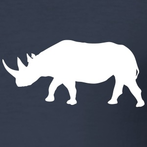 Rhino - Rhinoceros - Africa T-Shirts - Men's Slim Fit T-Shirt