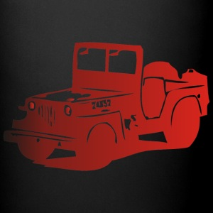 US Jeep Willys  2  - Tasse einfarbig