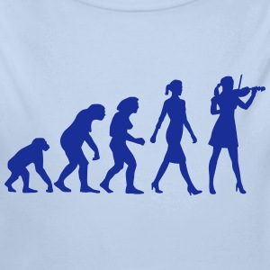 evolution_female_violin_player_112014_b_ Pullover & Hoodies - Baby Bio-Langarm-Body