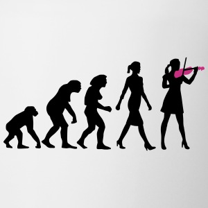 evolution_female_violin_player_112014_b_ Tassen & Zubehör - Tasse