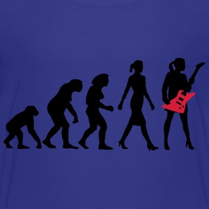 evolution_female_eguitar_player_112014_b T-Shirts - Teenager Premium T-Shirt