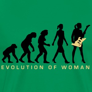 evolution_female_eguitar_player_112014_c T-Shirts - Männer Premium T-Shirt