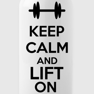 Keep Calm And Lift On Tassen & Zubehör - Trinkflasche
