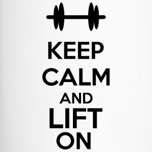 Keep Calm And Lift On Tassen & Zubehör - Thermobecher