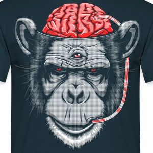 Brain Chimp 2 T-Shirts - Men's T-Shirt
