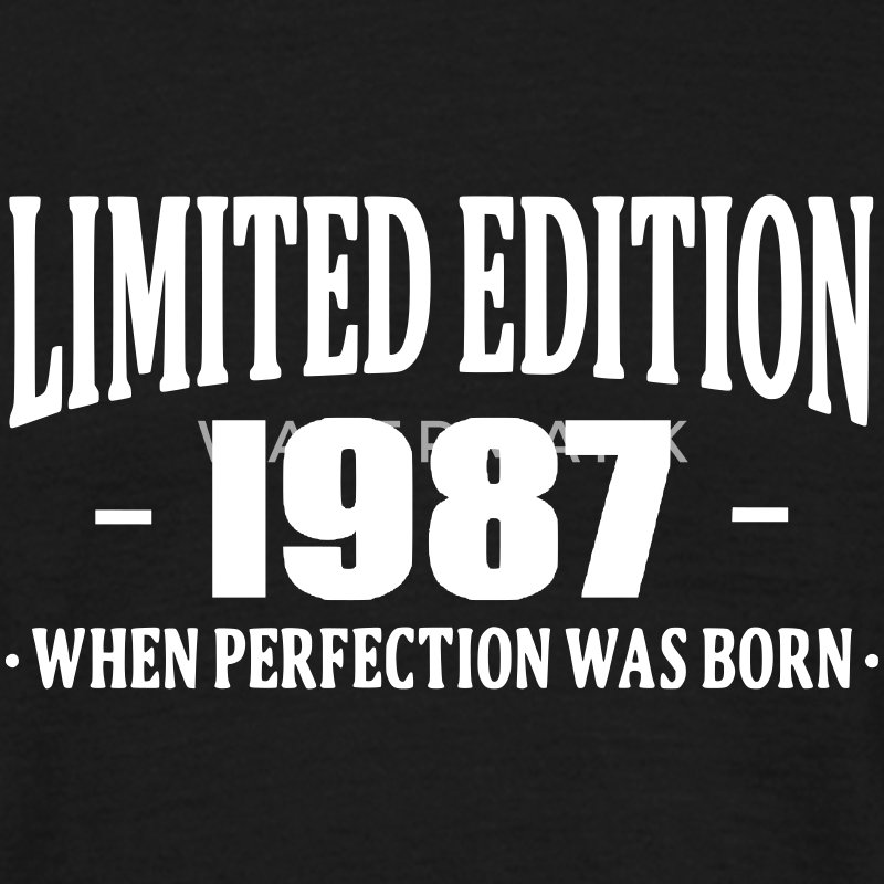 Limited Edition 1987 Tee shirts - T-shirt Homme