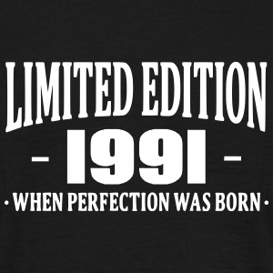 Limited Edition 1991 T-shirts - Mannen T-shirt