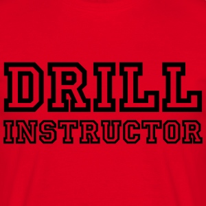 Drill Instructor Camisetas - Camiseta hombre
