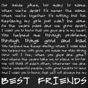 Best friends (dark) Tee shirts - T-shirt Femme