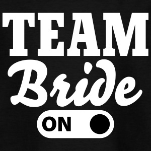 Team Bride on T-shirts - T-shirt tonåring