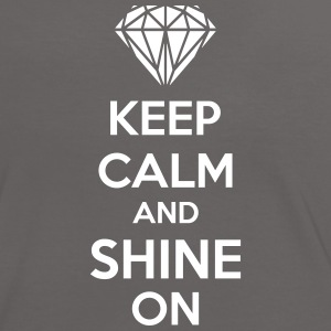 Keep Calm And Shine On Camisetas - Camiseta contraste mujer