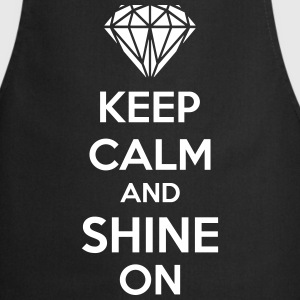 Keep Calm And Shine On  Aprons - Cooking Apron