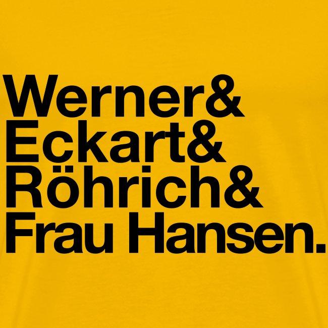 Werner & Eckart Shirt gelb