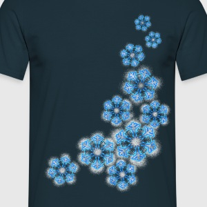 snowflakes T-shirts - Mannen T-shirt