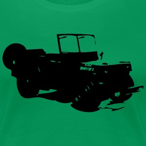 US Jeep Willys Ford - Frauen Premium T-Shirt