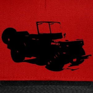 US Jeep Willys Ford - Snapback Cap