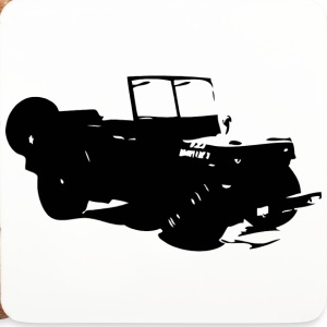US Jeep Willys Ford - Untersetzer (4er-Set)
