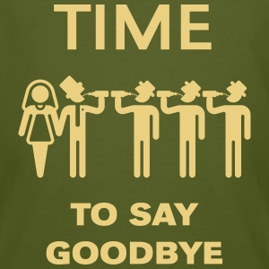 Time To Say Goodbye (Partie De Bachelor) Tee shirts - T-shirt bio Homme