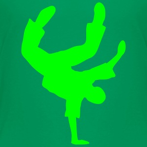 Breakdance Dancer Moves Freeze Clipart Music Dance Shirts - Teenage Premium T-Shirt