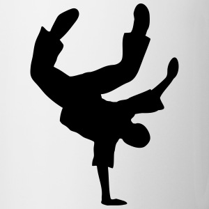 Breakdance break danse breakdancer danseur  Bouteilles et Tasses - Tasse