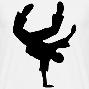 Breakdance Dancer Moves Music Dance T-Shirts - Men's T-Shirt
