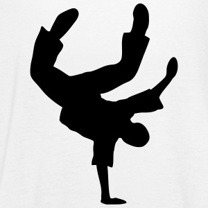 Breakdance Dancer Moves Freeze Clipart Music Dance Tops - Women's Tank Top by Bella