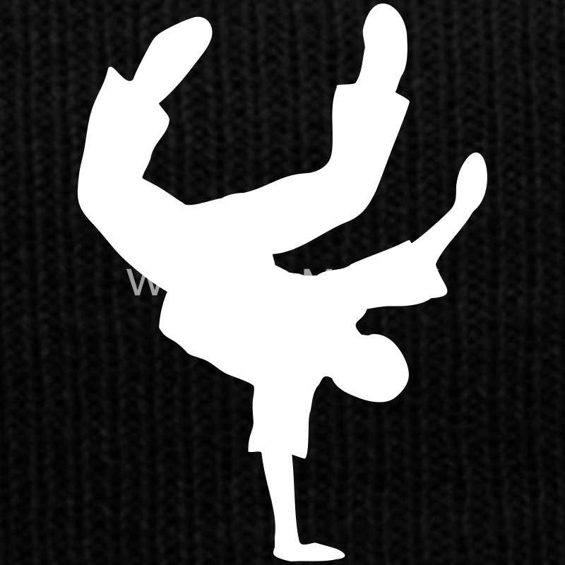 Breakdance Dancer Break-Dance Tänzer Music Musik  Caps & Mützen - Wintermütze