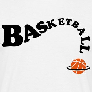 basketbal Dunk Dunking Basket T-shirts - Mannen T-shirt