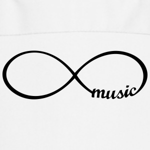 Endless Music I love music infinitly infinity   Aprons - Cooking Apron