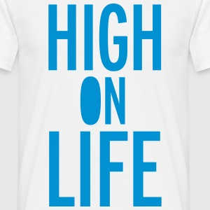 High On Life T-shirts - Mannen T-shirt