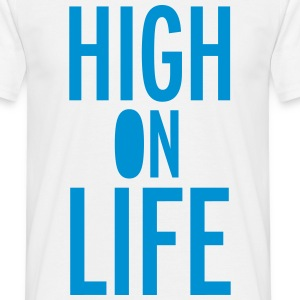 High On Life Camisetas - Camiseta hombre