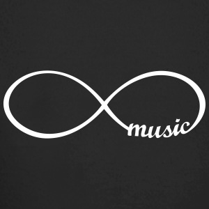 Endless Music I love music infinitly infinity  Hoodies - Longlseeve Baby Bodysuit