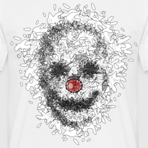 skullclown T-shirts - Herre-T-shirt
