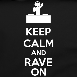 Keep Calm And Rave On Bolsas y mochilas - Bolso de bandolera