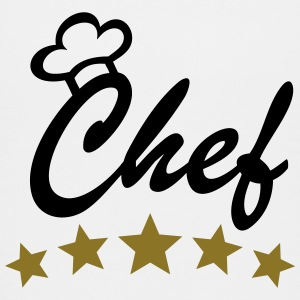 5 Stars Chef Cook Cooking Chef's Hat aprons Shirts - Teenage Premium T-Shirt