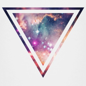 Galaxy - Space - Universe / Hipster Triangle T-shirts - Premium-T-shirt tonåring