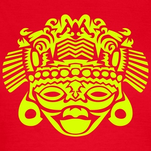 Aztec mask-Figur 25096 T-Shirts - Frauen T-Shirt