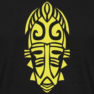 masque azteque figure mask 25092 Tee shirts - T-shirt Homme
