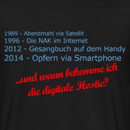 Motiv ~ Digitale-Hostie-Shirt